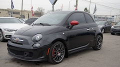 2012 Fiat 500 Abarth TURBO * 5 SPEED * RED LEATHER * SUNROOF Hatchback