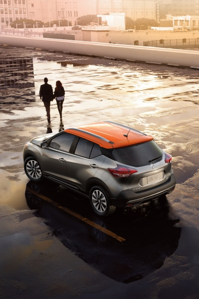 New Nissan Kicks in Santa Fe