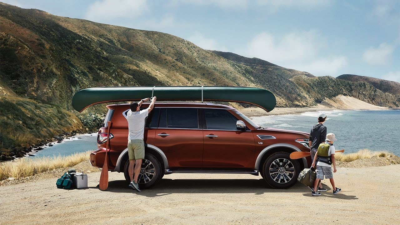2017 Nissan Armada in Santa Fe: The Fully Equipped and Powerful SUV