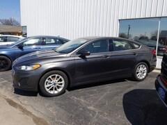 2019 Ford Fusion SE Sedan 3FA6P0HDXKR130485