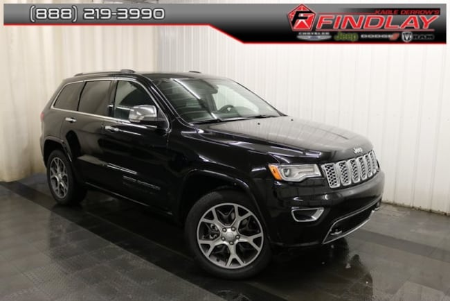 New 2019 Jeep Grand Cherokee OVERLAND 4X4 Sport Utility For Sale/Lease Findlay, OH