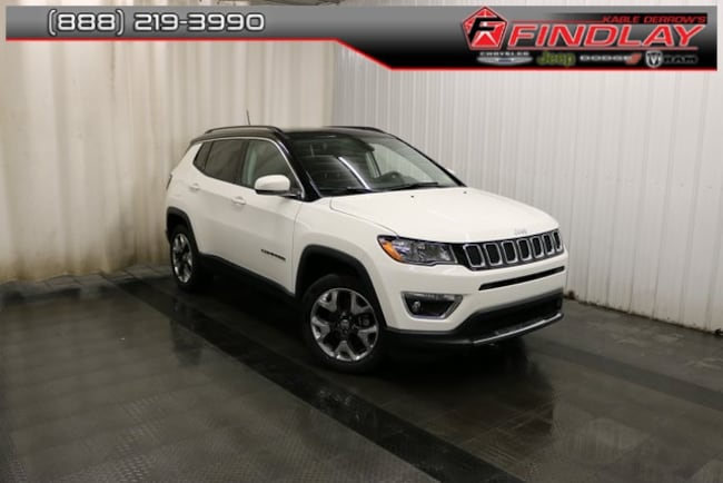 New 2019 Jeep Compass LIMITED 4X4 Sport Utility For Sale/Lease Findlay, OH