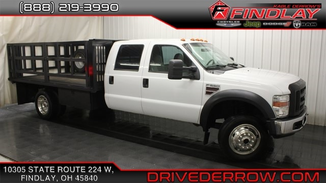 2008 Ford F-550SD XL Cab/Chassis