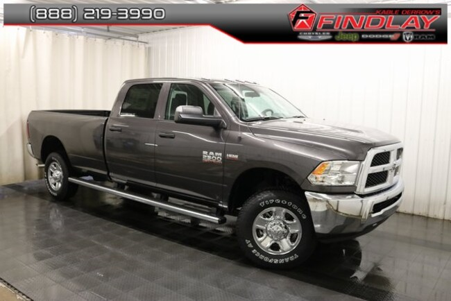 New 2018 Ram 2500 TRADESMAN CREW CAB 4X4 8' BOX Crew Cab For Sale/Lease Findlay, OH