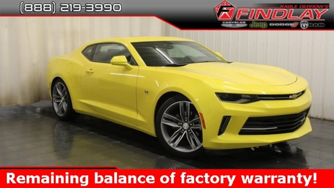 Used 2018 Chevrolet Camaro 1LT Coupe For Sale Findlay, OH