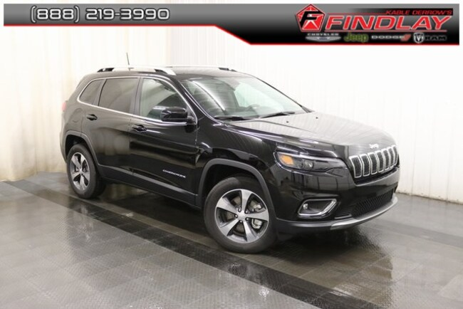 New 2019 Jeep Cherokee LIMITED 4X4 Sport Utility For Sale/Lease Findlay, OH