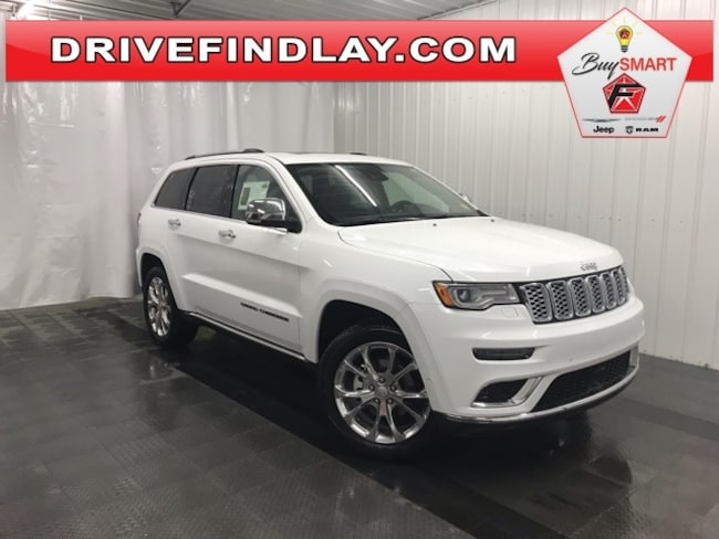 New 2019 Jeep Grand Cherokee SUMMIT 4X4 Sport Utility For Sale/Lease Findlay, OH