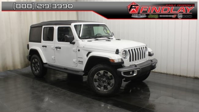 New 2018 Jeep Wrangler UNLIMITED SAHARA 4X4 Sport Utility For Sale/Lease Findlay, OH