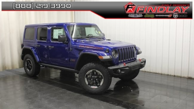New 2018 Jeep Wrangler UNLIMITED RUBICON 4X4 Sport Utility For Sale/Lease Findlay, OH