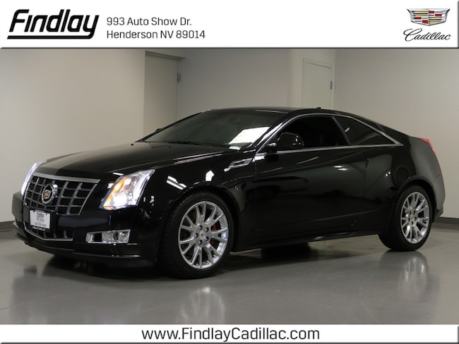 2013 CADILLAC CTS Premium Coupe