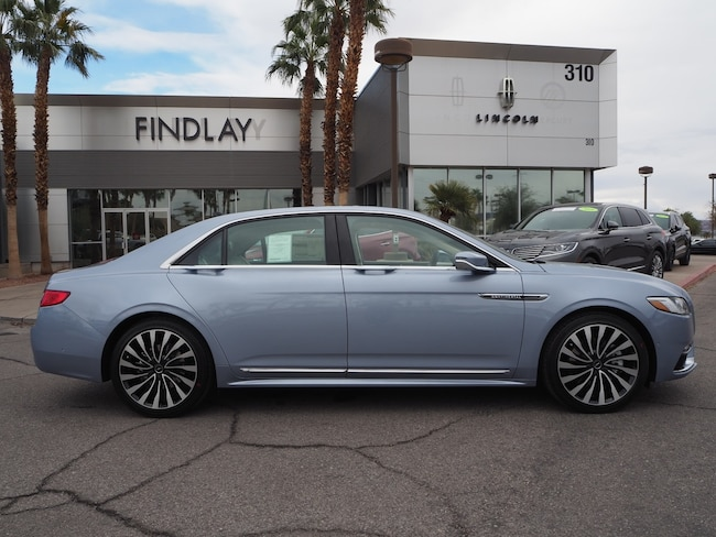 New 2019 Lincoln Continental Black Label LB19109 For Sale in Henderson, NV