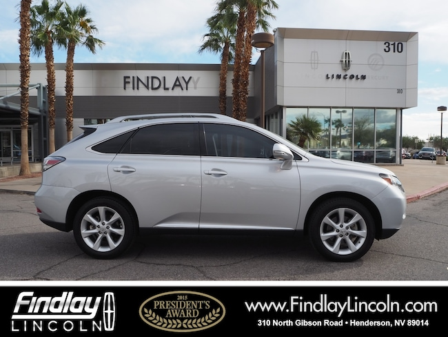 Pre-Owned 2011 LEXUS RX 350 SUV For Sale in Henderson, NV