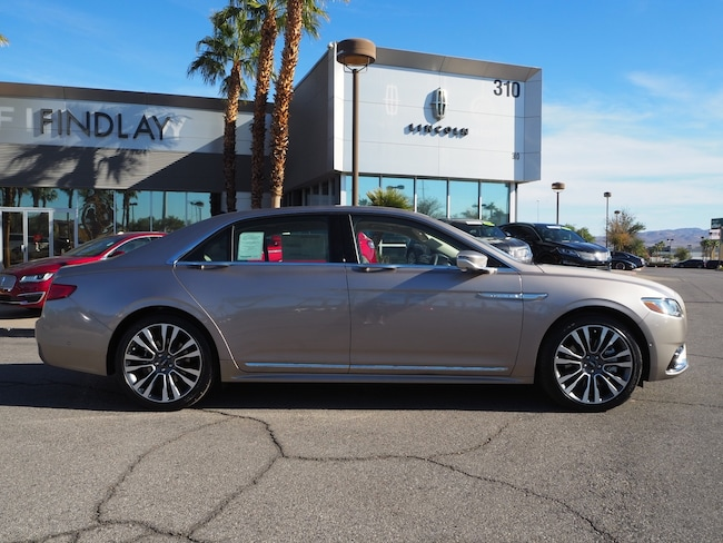 New 2019 Lincoln Continental Reserve L19083 For Sale in Henderson, NV