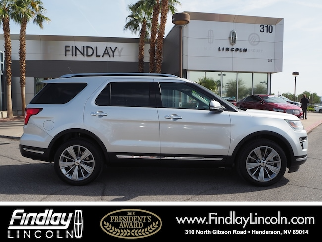 Pre-Owned 2018 Ford Explorer Limited SUV For Sale in Henderson, NV