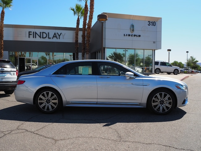 New 2019 Lincoln Continental Reserve L19256 For Sale in Henderson, NV