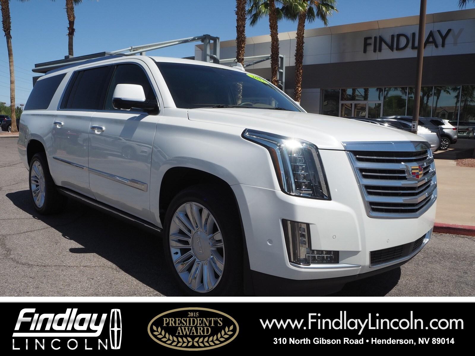 2017 Cadillac Escalade ESV Platinum Edition SUV