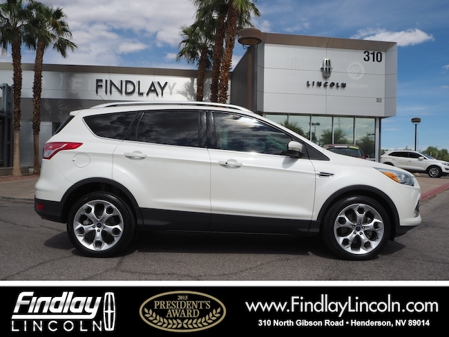 Pre-Owned 2013 Ford Escape Titanium SUV For Sale in Henderson, NV