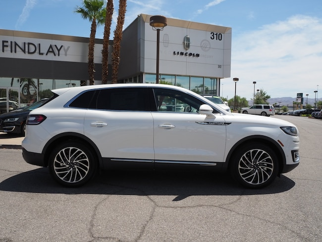 New 2019 Lincoln Nautilus Reserve L19321 For Sale in Henderson, NV