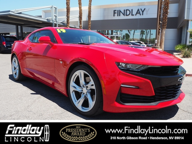 Pre-Owned 2019 Chevrolet Camaro SS Coupe For Sale in Henderson, NV