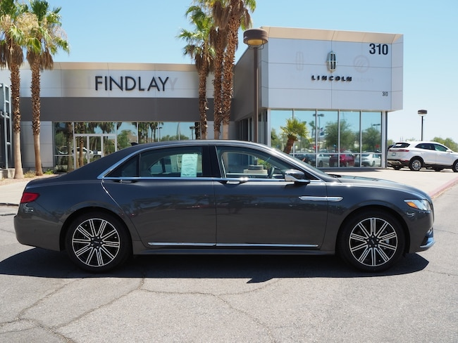 New 2018 Lincoln Continental Reserve L18268 For Sale in Henderson, NV