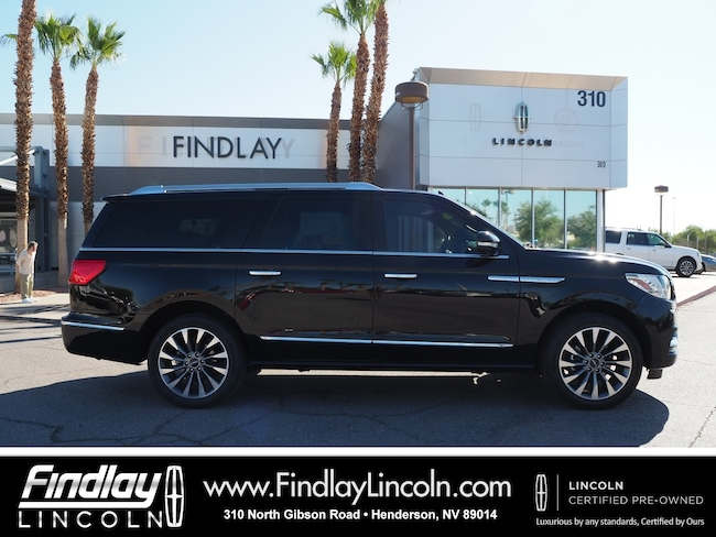 Certified 2018 Lincoln Navigator L Select SUV For Sale in Henderson, NV