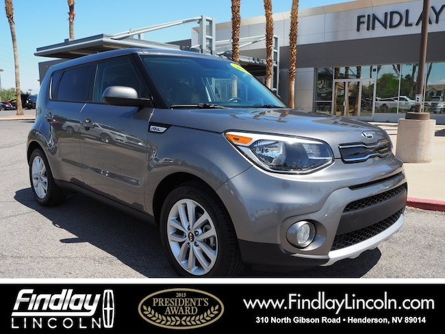Pre-Owned 2018 Kia Soul Plus Hatchback For Sale in Henderson, NV