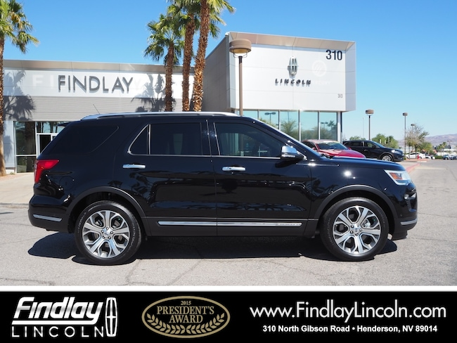 Pre-Owned 2018 Ford Explorer Platinum SUV For Sale in Henderson, NV