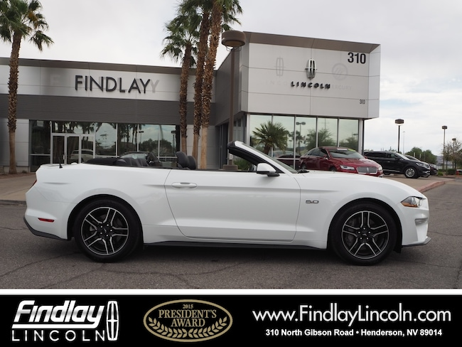 Pre-Owned 2018 Ford Mustang GT Premium Convertible For Sale in Henderson, NV