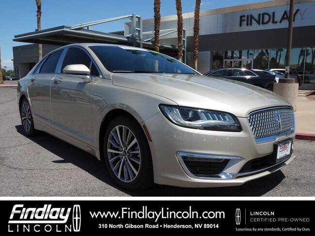 Certified 2017 Lincoln MKZ Hybrid Sedan For Sale in Henderson, NV