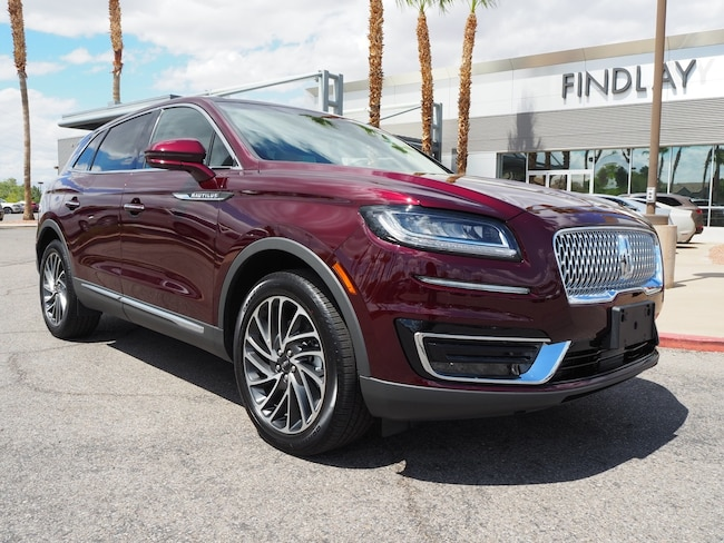 New 2019 Lincoln Nautilus Reserve L19254 For Sale in Henderson, NV