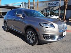 New 2019 Lincoln Nautilus Select L19129 in Henderson, NV