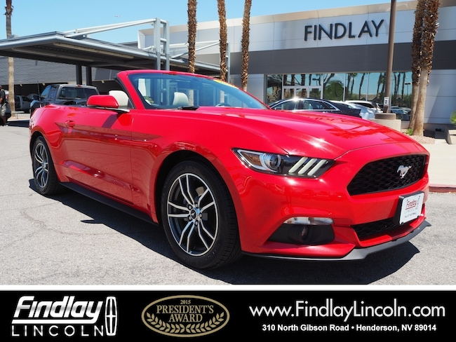 Pre-Owned 2017 Ford Mustang Ecoboost Premium Convertible For Sale in Henderson, NV