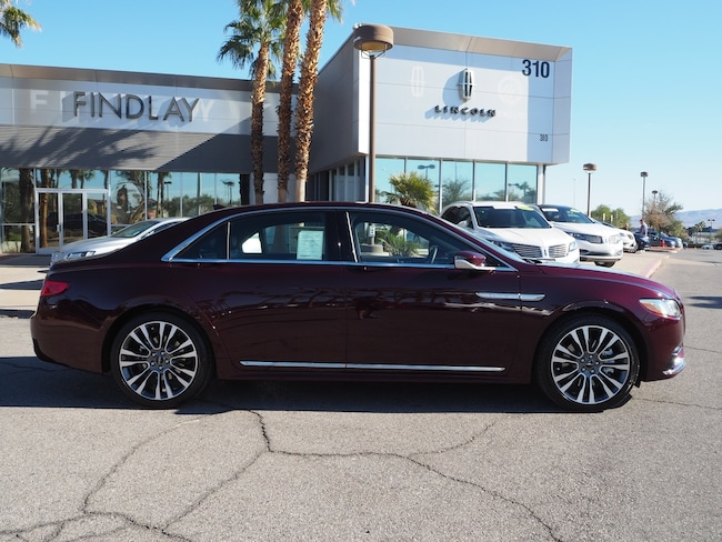 New 2019 Lincoln Continental Select L19151 For Sale in Henderson, NV