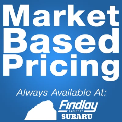 Market Based Pricing at Findlay Subaru Prescott