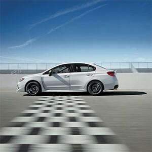 2018 Subaru WRX crossing the Finish Line - Findlay Subaru Prescott