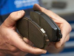 Worn brake pads can cause serious issues - Findlay Subaru Prescott can replace them for you.