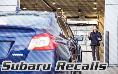 Subaru Recall repairs in Prescott, Arizona