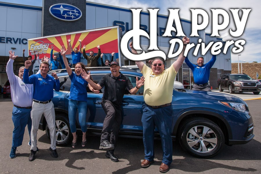 Findlay Subaru Prescott's Happy Drivers
