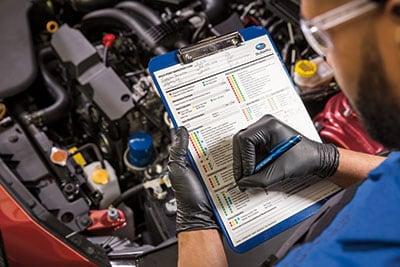 Service Inspecition @ Findlay Subaru Prescott