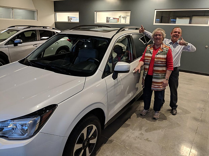 2018 Subaru Forester 2.5i Premium in Crystal White Pearl