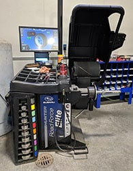 Findlay Subaru Prescott's Hunter/Subaru Road  Force Tire/Wheel Balancing Machine