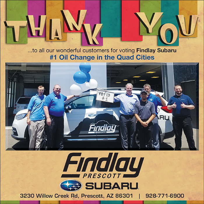 Get The Latest News & Updates on the Findlay Subaru Prescott Blog