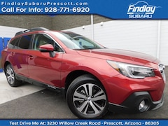 Certified Pre-Owned 2018 Subaru Outback Limited SUV 4S4BSENC0J3392122 for Sale in Prescott, AZ