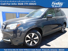 Certified Pre-Owned 2018 Subaru Forester Limited SUV JF2SJARC0JH504514 for Sale in Prescott, AZ