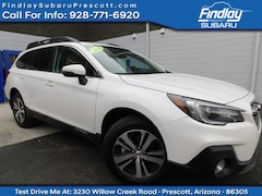 Certified Pre-Owned 2018 Subaru Outback Limited SUV 4S4BSENC1J3374647 for Sale in Prescott, AZ