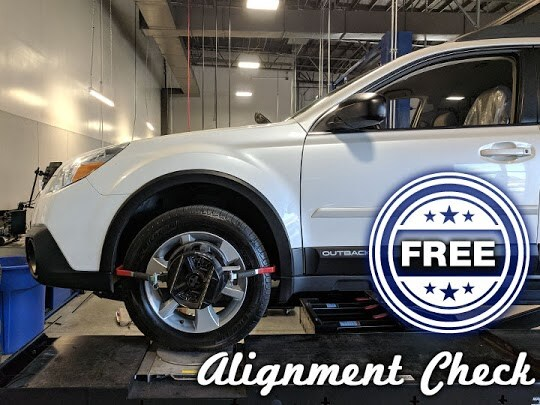 Free Alignment Checks for Prescott area drivers