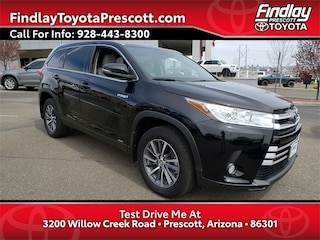 2019 Toyota Highlander Hybrid XLE V6 SUV For Sale in Prescott | Findlay Toyota Prescott