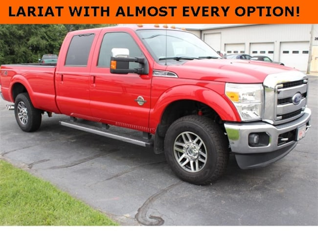 Used 2015 Ford F-250SD Lariat Truck for Sale in Plymouth, IN at Auto Park Buick GMC