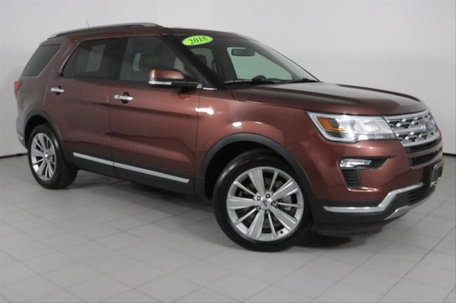 Used 2018 Ford Explorer Limited SUV in Peoria, IL