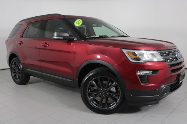 New 2019 Ford Explorer XLT SUV in Peoria, IL